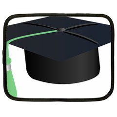 Graduate Cap Netbook Case (large) by Colorfulart23