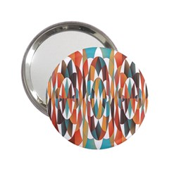 Colorful Geometric Abstract 2 25  Handbag Mirrors by linceazul