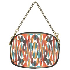 Colorful Geometric Abstract Chain Purses (two Sides)  by linceazul