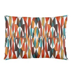 Colorful Geometric Abstract Pillow Case by linceazul