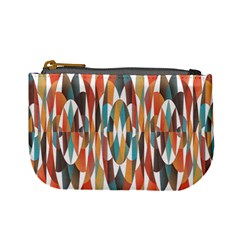 Colorful Geometric Abstract Mini Coin Purses