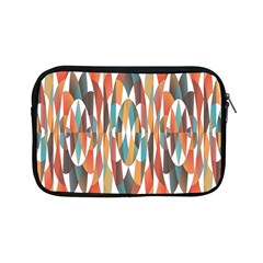 Colorful Geometric Abstract Apple Ipad Mini Zipper Cases by linceazul