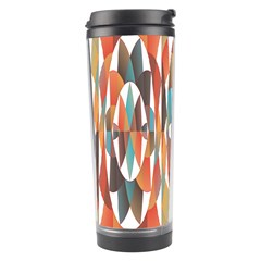 Colorful Geometric Abstract Travel Tumbler by linceazul
