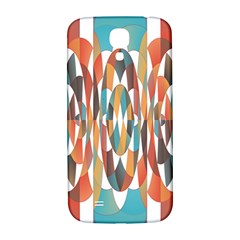 Colorful Geometric Abstract Samsung Galaxy S4 I9500/i9505  Hardshell Back Case by linceazul