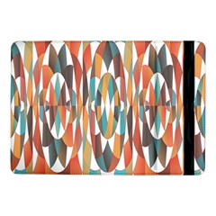Colorful Geometric Abstract Samsung Galaxy Tab Pro 10 1  Flip Case by linceazul