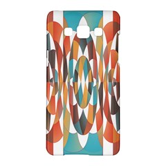 Colorful Geometric Abstract Samsung Galaxy A5 Hardshell Case  by linceazul