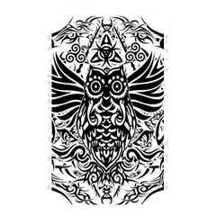 Tattoo Tribal Owl Memory Card Reader by Valentinaart