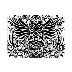 Tattoo Tribal Owl Double Sided Flano Blanket (mini)