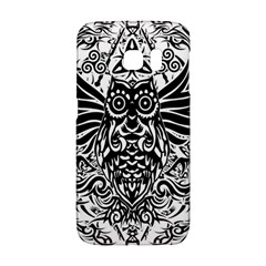 Tattoo Tribal Owl Galaxy S6 Edge
