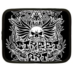 Tattoo Tribal Street Art Netbook Case (large) by Valentinaart