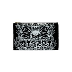 Tattoo Tribal Street Art Cosmetic Bag (small)  by Valentinaart