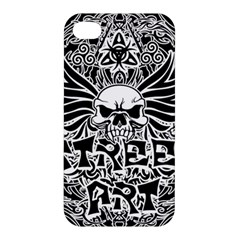 Tattoo Tribal Street Art Apple Iphone 4/4s Hardshell Case