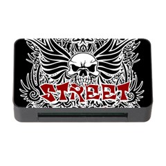 Tattoo Tribal Street Art Memory Card Reader With Cf by Valentinaart