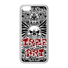 Tattoo Tribal Street Art Apple Iphone 5c Seamless Case (white) by Valentinaart