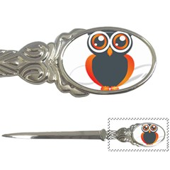Owl Logo Letter Openers by BangZart