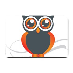 Owl Logo Small Doormat  by BangZart