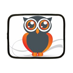 Owl Logo Netbook Case (small)  by BangZart