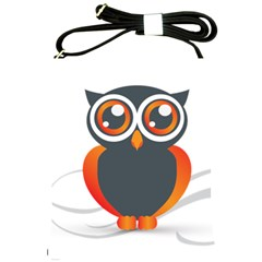 Owl Logo Shoulder Sling Bags by BangZart
