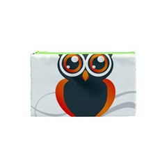 Owl Logo Cosmetic Bag (xs)