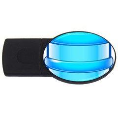 Large Water Bottle Usb Flash Drive Oval (2 Gb) by BangZart