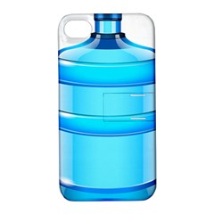 Large Water Bottle Apple Iphone 4/4s Hardshell Case With Stand by BangZart