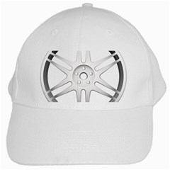 Wheel Skin Cover White Cap