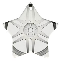 Wheel Skin Cover Ornament (star) by BangZart