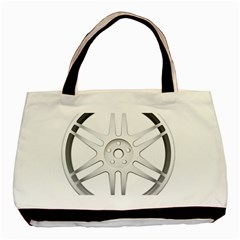 Wheel Skin Cover Basic Tote Bag by BangZart