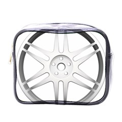 Wheel Skin Cover Mini Toiletries Bags by BangZart