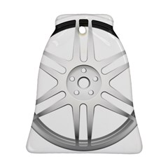Wheel Skin Cover Bell Ornament (two Sides) by BangZart