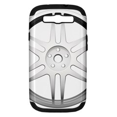 Wheel Skin Cover Samsung Galaxy S Iii Hardshell Case (pc+silicone) by BangZart
