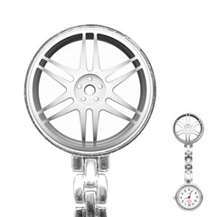 Wheel Skin Cover Stainless Steel Nurses Watch