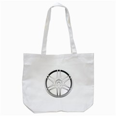 Wheel Skin Cover Tote Bag (white)