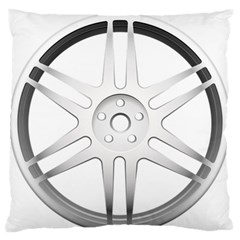 Wheel Skin Cover Standard Flano Cushion Case (two Sides) by BangZart