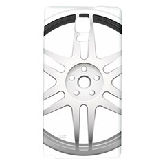 Wheel Skin Cover Galaxy Note 4 Back Case