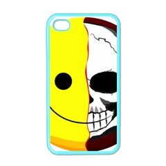 Skull Behind Your Smile Apple Iphone 4 Case (color) by BangZart