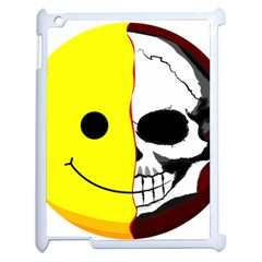 Skull Behind Your Smile Apple Ipad 2 Case (white)