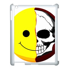 Skull Behind Your Smile Apple Ipad 3/4 Case (white) by BangZart