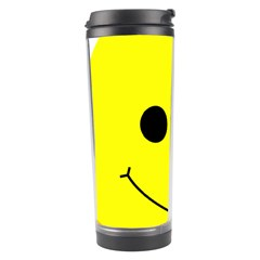 Skull Behind Your Smile Travel Tumbler by BangZart