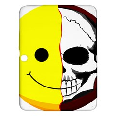 Skull Behind Your Smile Samsung Galaxy Tab 3 (10 1 ) P5200 Hardshell Case
