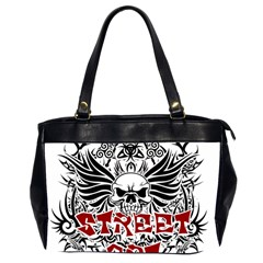 Tattoo Tribal Street Art Office Handbags (2 Sides)  by Valentinaart