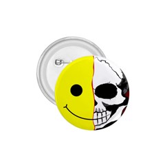 Skull Behind Your Smile 1 75  Buttons by BangZart