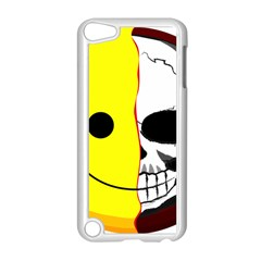 Skull Behind Your Smile Apple Ipod Touch 5 Case (white)
