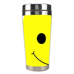Skull Behind Your Smile Stainless Steel Travel Tumblers by BangZart