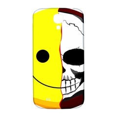 Skull Behind Your Smile Samsung Galaxy S4 I9500/i9505  Hardshell Back Case by BangZart