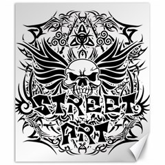 Tattoo Tribal Street Art Canvas 20  X 24   by Valentinaart