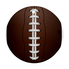 Football Ball Ornament (round) by BangZart