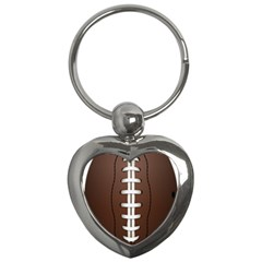 Football Ball Key Chains (heart)  by BangZart