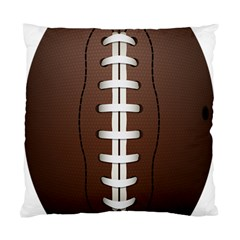 Football Ball Standard Cushion Case (one Side) by BangZart