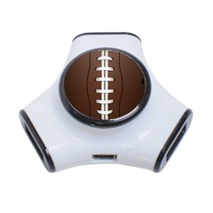 Football Ball 3 Port Usb Hub by BangZart